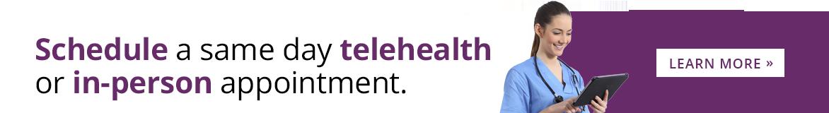 Telehealth Now Available