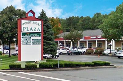Urgent Care-Adirondack exterior and sign